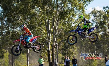 MX Nationals Rnd Gladstone moto mxd bishop mckay
