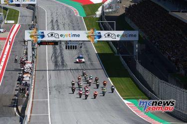 MotoGP Rnd Austria GP start GP AN