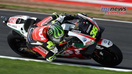 MotoGP Silverstone Crutchlow GP AN