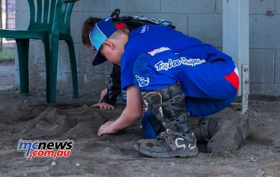 mx nationals coolum rnd kids make track ImageScottya