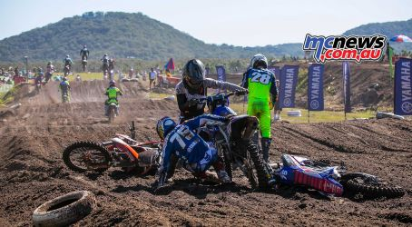mx nationals coolum rnd mxd ellis down ImageScottya