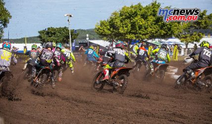 mx nationals coolum rnd saturday cc rookies start first corner ImageScottya