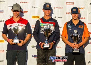 mx nationals coolum rnd saturday round winners Rising Star Rookies ImageScottya