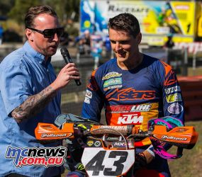 mx nationals coolum rnd superpole mitch evans wins ImageScottya