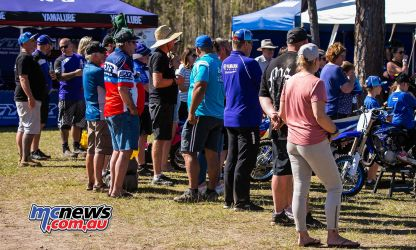 mx nationals coolum rnd yamaha tent on lookers ImageScottya
