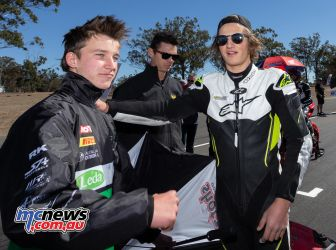 ASBK TBG Rnd Morgan Park Oli Bayliss Tom Toparis TBG