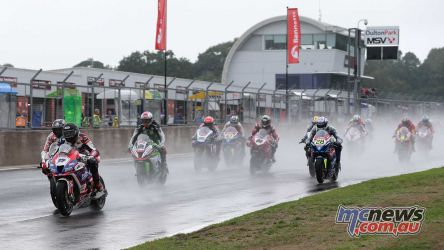 BSB Showdown Oulton Park Jake Dixon leads from the start ImageDyeomans