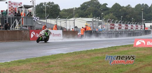 BSB Showdown Oulton Park Leon Haslam takes third from the back of the grid ImageDyeomans