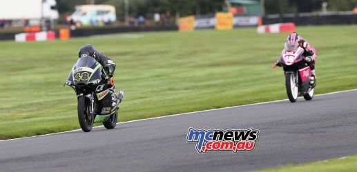 BSB Showdown Oulton Park Shani Pinfold leads ImageDyeomans