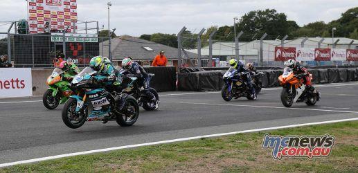 BSB Showdown Oulton Park Supersport Race start ImageDyeomans