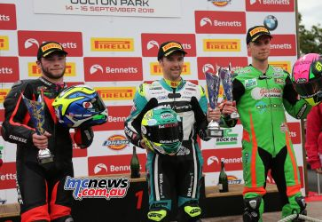 BSB Showdown Oulton Park Supersport Seeley Owen Currie ImageDyeomans