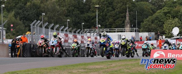 BSB Showdown Oulton Park Superstock start ImageDyeomans