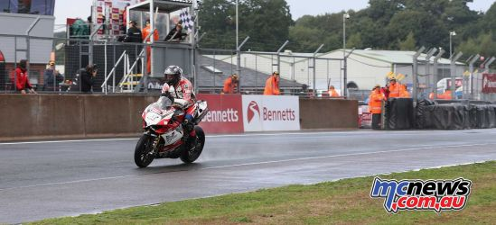 BSB Showdown Oulton Park Tommy Bridewell home second ImageDyeomans