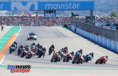 MotoGP Aragon GPstart GP AN