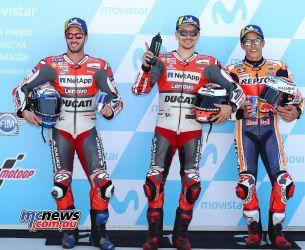 MotoGP Aragon Qualifying FrontRow GP AN