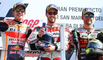 MotoGP Misano GPpod GP AN