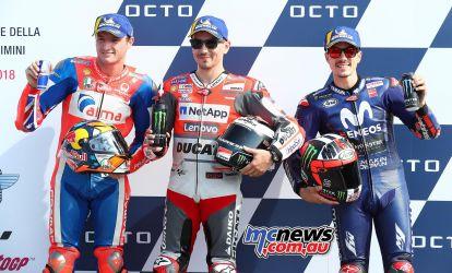 MotoGP Misano ParcFerme GP AN