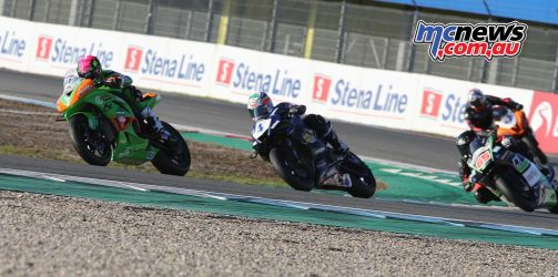 BSB Rnd Assen Ben Currie leads a group ImageDyeomans