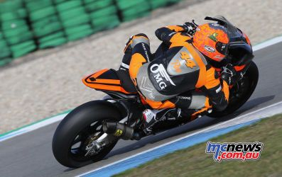 BSB Rnd Assen Gino Rea was quickest free practice ImageDyeomans