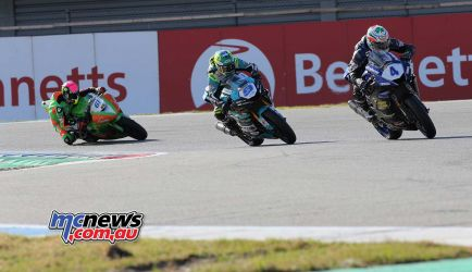 BSB Rnd Assen Jack Kennedy leads the group ImageDyeomans