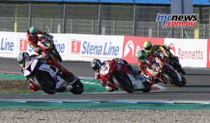 BSB Rnd Assen Jason OHalloran chases Peter Hickman ImageDyeomans