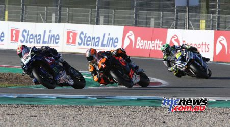 BSB Rnd Assen Josh Brookes leads a pack ImageDyeomans