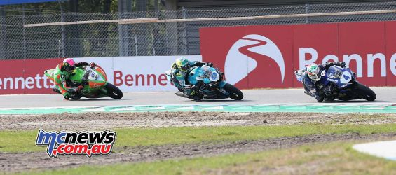 BSB Rnd Assen Kennedy leads from Seeley and Benn Currie ImageDyeomans