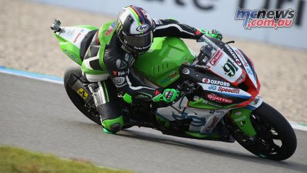 BSB Rnd Assen Leon Haslam during Qualifying ImageDyeomans