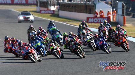 MotoGP Motegi GPstart GP AN