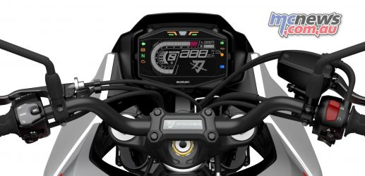 Suzuki Katana Cockpit