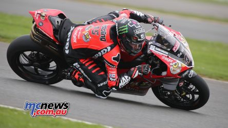 BSB Test Silverstone Tue Scott Redding DyeomansImage