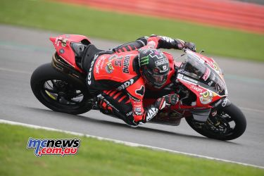 BSB Test Silverstone Tue Scott Redding working hard DyeomansImage