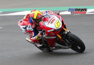 BSB Test Silverstone Tue Xavi Fores at work DyeomansImage