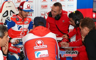 MotoGP Valencia Test Bagnaia GPT AN