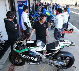 MotoGP Valencia Test LCR GPT AN