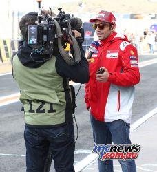 MotoGP Valencia Test Michele Pirro GPT AN