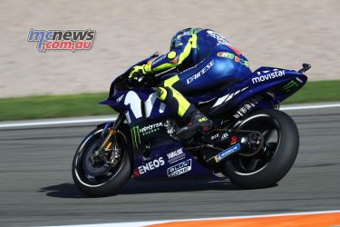 MotoGP Valencia Test Rossi GPT AN