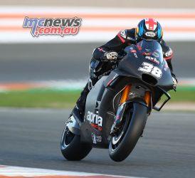 MotoGP Valencia Test Smith GPT AN
