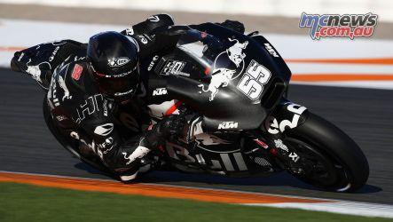 MotoGP Valencia Test Syahrin GPT AN