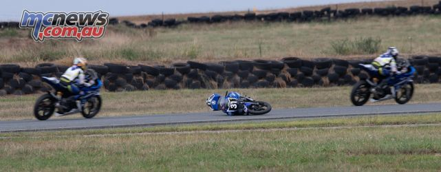 ASBK Rnd Wakefield RbMotoLens Max Gibbons Crash