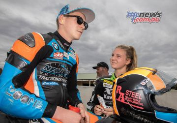 ASBK TBG ASBK Round Wakefield Park SBK R Sunday Grid Ted Collins Tayla Relph A