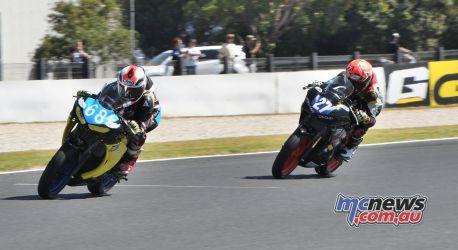 ASBK Round Phillip Island SS Saturday Rob Mott Luke Power Max Stauffer