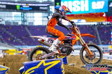 AMA SX Rnd Musquin JK SX Minneapolis