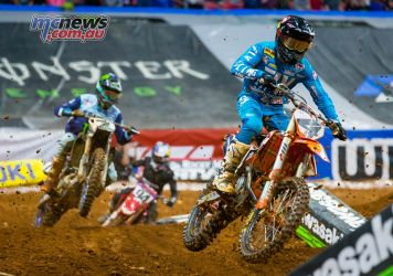 AMA SX Rnd Atlanta Baggett Plessinger Multiple JK SX Atlanta
