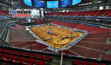 AMA SX Rnd Atlanta Pits JK SX Atlanta