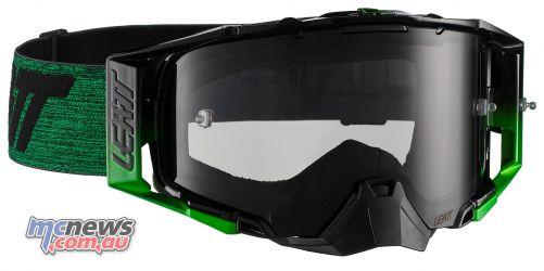 Leatt Goggles Velocity BlkGrn MotoGPX