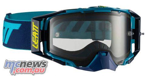 Leatt Goggles Velocity InkBlu MotoGPX