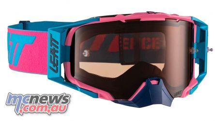 Leatt Goggles Velocity PinkCyan MotoGPX