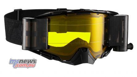 Leatt Goggles Velocity Roll Off BlackGrey