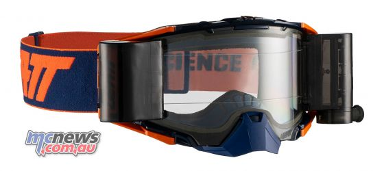 Leatt Goggles Velocity Roll Off InkOrange